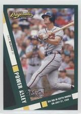 2002 Donruss Originals Power Alley #PA-15 Dale Murphy Atlanta Braves Card