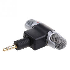 Mini Stereo Microphone Record Mic 3.5mm for PC Laptop Notebook Cellphone