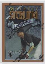 1996 Topps Finest Refractor #280 Robin Ventura Chicago White Sox Baseball Card