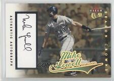 2004 Fleer Ultra Season Crowns Gold Autographs Autographed #157 Mike Lowell Auto