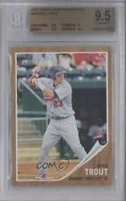 2011 Topps Heritage Minor League Edition #44 Mike Trout BGS 9.5 Baseball Card