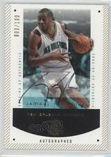 2002-03 SP Authentic Limited #60-A Jamaal Magloire New Orleans Hornets Auto Card