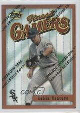 1996 Topps Finest Refractor #67 Robin Ventura Chicago White Sox Baseball Card