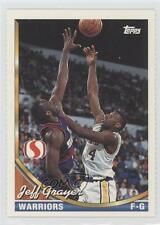 1993-94 Topps Safeway Golden State Warriors #GS8 Jeff Grayer Basketball Card
