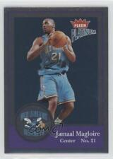 2003-04 Fleer Platinum Finish #89 Jamaal Magloire New Orleans Hornets Card