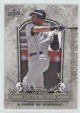 2008 Upper Deck A Piece of History 64 Derek Jeter New York Yankees Baseball Card