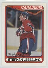 1990-91 O-Pee-Chee #388 Stephan Lebeau Montreal Canadiens RC Rookie Hockey Card