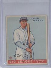 1933 Goudey Big League Chewing Gum R319 #164 Lloyd Waner Pittsburgh Pirates Card