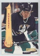 1994-95 Pinnacle Artist's Proof 93 Tim Sweeney Anaheim Ducks (Mighty of Anaheim)