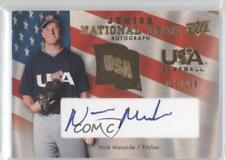 2008 Upper Deck USJR-NM Nick Maronde Team USA (National Team) Auto Baseball Card