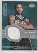 2003 Upper Deck Honor Roll #122 Dahntay Jones Memphis Grizzlies Basketball Card