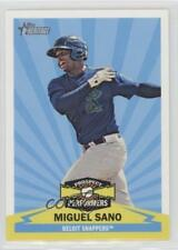 2012 Topps Heritage Minor League Edition Prospect Performers #PPMS Miguel Sano