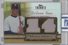 2012 Topps Tribute Debut Digits Relic Gold Encased #DD-RC Robinson Cano Card