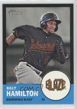 2012 Topps Heritage Minor League Edition Black Border #10 Billy Hamilton Card