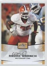 2012 Leaf Draft Gold #3 Andre Branch Clemson Tigers Rookie Football Card