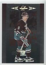 1996 Leaf Limited 64 Teemu Selanne Anaheim Ducks (Mighty of Anaheim) Hockey Card