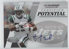 2010 Certified Potential Signatures Autographed #4 Joe McKnight Auto Rookie Card