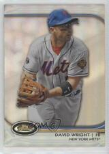 2012 Topps Finest Refractor 38 David Wright New York Mets Baltimore Orioles Card