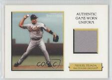 2005 Topps Turkey Red Relics White #TRR-MT Miguel Tejada Baltimore Orioles Card