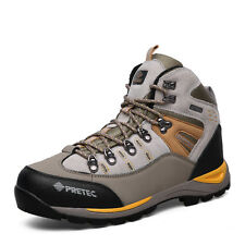GOMNEAR men fashion trail hiking boots athletic wearable non slip outdoor shoes