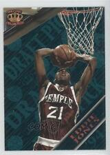 1995 Pacific Prism Draft Picks Blue #34 Eddie Jones Temple Owls Basketball Card