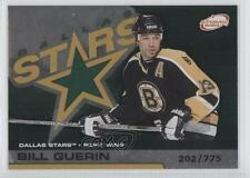 2002-03 Pacific Atomic Hobby Parallel #32 Bill Guerin Boston Bruins Dallas Stars