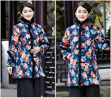 Junoesque Chinese Women's Winter Cotton Jacket/Coat Cheongsam Sz M L XL XXL 3XL