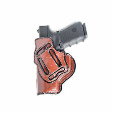 4 IN 1 IWB LEATHER HOLSTER FOR TAURUS MILLENNIUM G2  - RIGHT/LEFT - BLACK/BROWN
