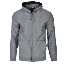 Puma CFT Evo Hooded Grey Zip Jacket Coat Mens 553379 01 U24
