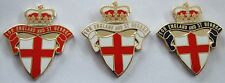 For England And St. George Shield & Crown England Pin Badge