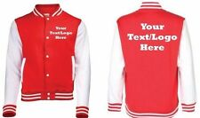 ~ KIDS PRINTED VARSITY JACKET~ , Personalised 'Text / Logo Here' - Teamwear