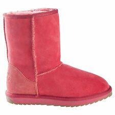 Classic Short Red UGG Boot Made in Australia JUMBUCK UGG Boots 7 Lady
