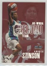 1999-00 WNBA Hoops Skybox All-WNBA First Team 9AW Andrea Stinson Basketball Card