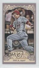 2012 Topps Gypsy Queen Mini Back 195 Mike Trout Los Angeles Angels Baseball Card
