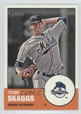 2012 Topps Heritage Minor League Edition #8 Tyler Skaggs Mobile BayBears Card