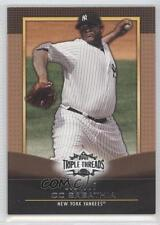 2011 Topps Triple Threads Sepia #75 CC Sabathia New York Yankees Baseball Card