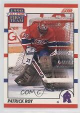 1990-91 Score Bilingual #312 Patrick Roy Montreal Canadiens Hockey Card