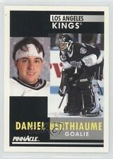 1991-92 Pinnacle 165 Daniel Berthiaume New York Islanders Los Angeles Kings Card