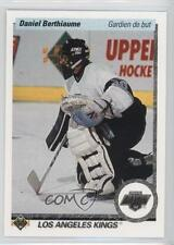 1990-91 Upper Deck French #412 Daniel Berthiaume Los Angeles Kings Hockey Card