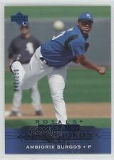 2005 Upper Deck Blue UD Exclusives #433 Ambiorix Burgos Kansas City Royals Card