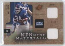2009 SPx Winning Materials Dual Memorabilia #W-OA Ottis Anderson New York Giants