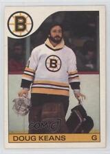1985-86 O-Pee-Chee #133 Doug Keans Boston Bruins Hockey Card