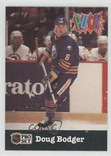 1991-92 Pro Set Puck #3 Doug Bodger Buffalo Sabres Hockey Card