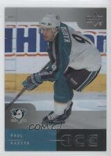 2000 Upper Deck Ice #1 Paul Kariya Anaheim Ducks (Mighty of Anaheim) Hockey Card