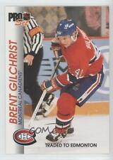 1992-93 Pro Set #90 Brent Gilchrist Montreal Canadiens Hockey Card
