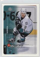 1998 Upper Deck MVP #1 Paul Kariya Anaheim Ducks (Mighty of Anaheim) Hockey Card