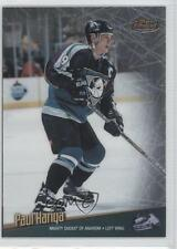 1998 Topps Finest No-Protector 100 Paul Kariya Anaheim Ducks (Mighty of Anaheim)