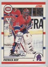 1990-91 Score Bilingual #10 Patrick Roy Montreal Canadiens Hockey Card