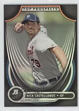 2013 Bowman Platinum Top Prospects #TP-NC Nick Castellanos Detroit Tigers Card