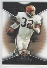 2009 Topps Triple Threads Sepia #96 Jim Brown Cleveland Browns Football Card